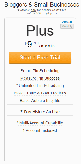 Pinterest Pin Scheduler Tailwind Free Trial