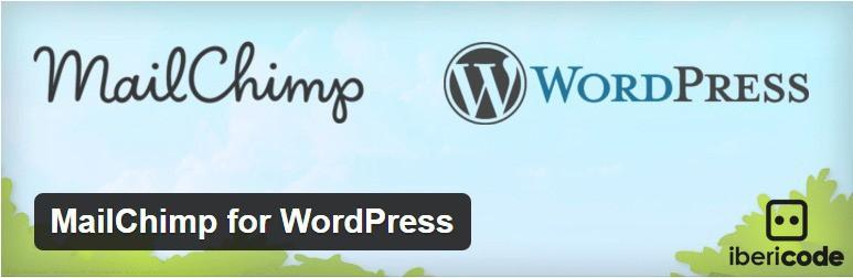 Mailchimp plugin for wordpress