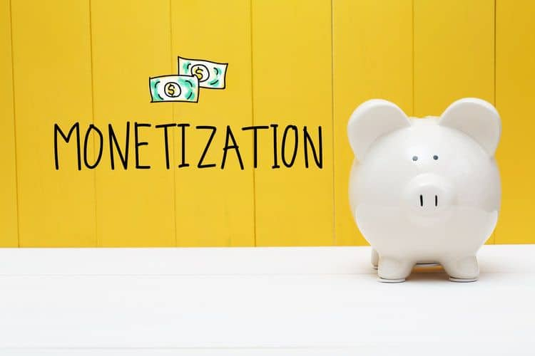 Make money with your blog or website with these website monetization techniques