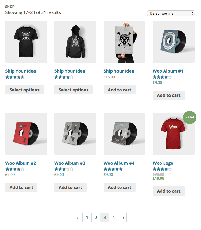Customize your WooCommerce shop and make money selling items on your blog.
