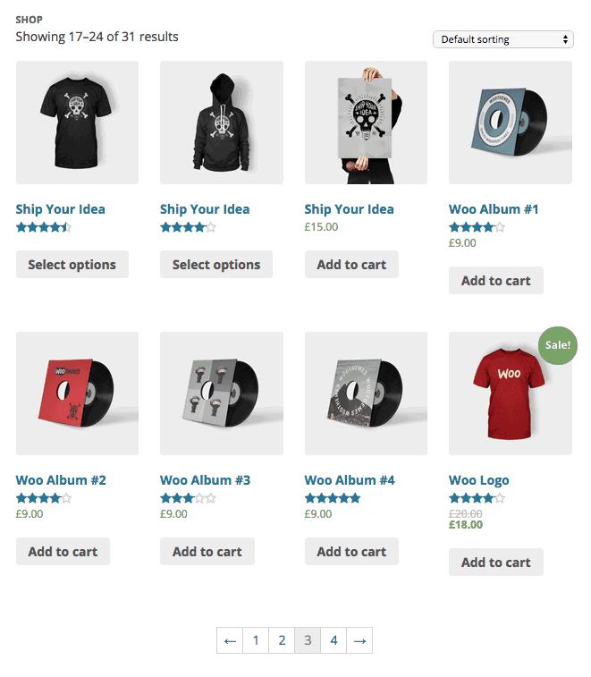 WooCommerce eCommerce store example