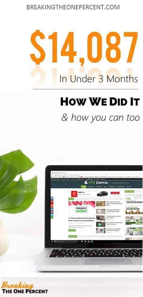 A blog income report that actually gives valuable information to help you build your online business income!