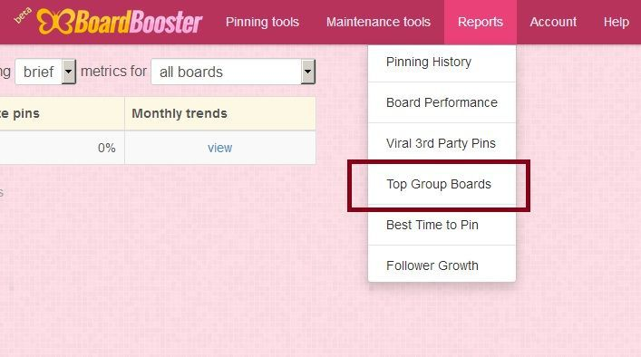 Use BoardBooster to find and join Pinterest group boards as well.