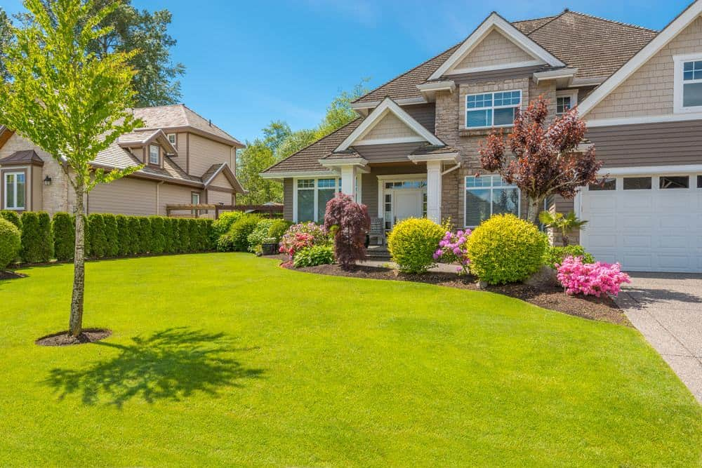 Beautiful landscaping can pique a buyers interest and adds value to your final asking price when getting ready to sell your home