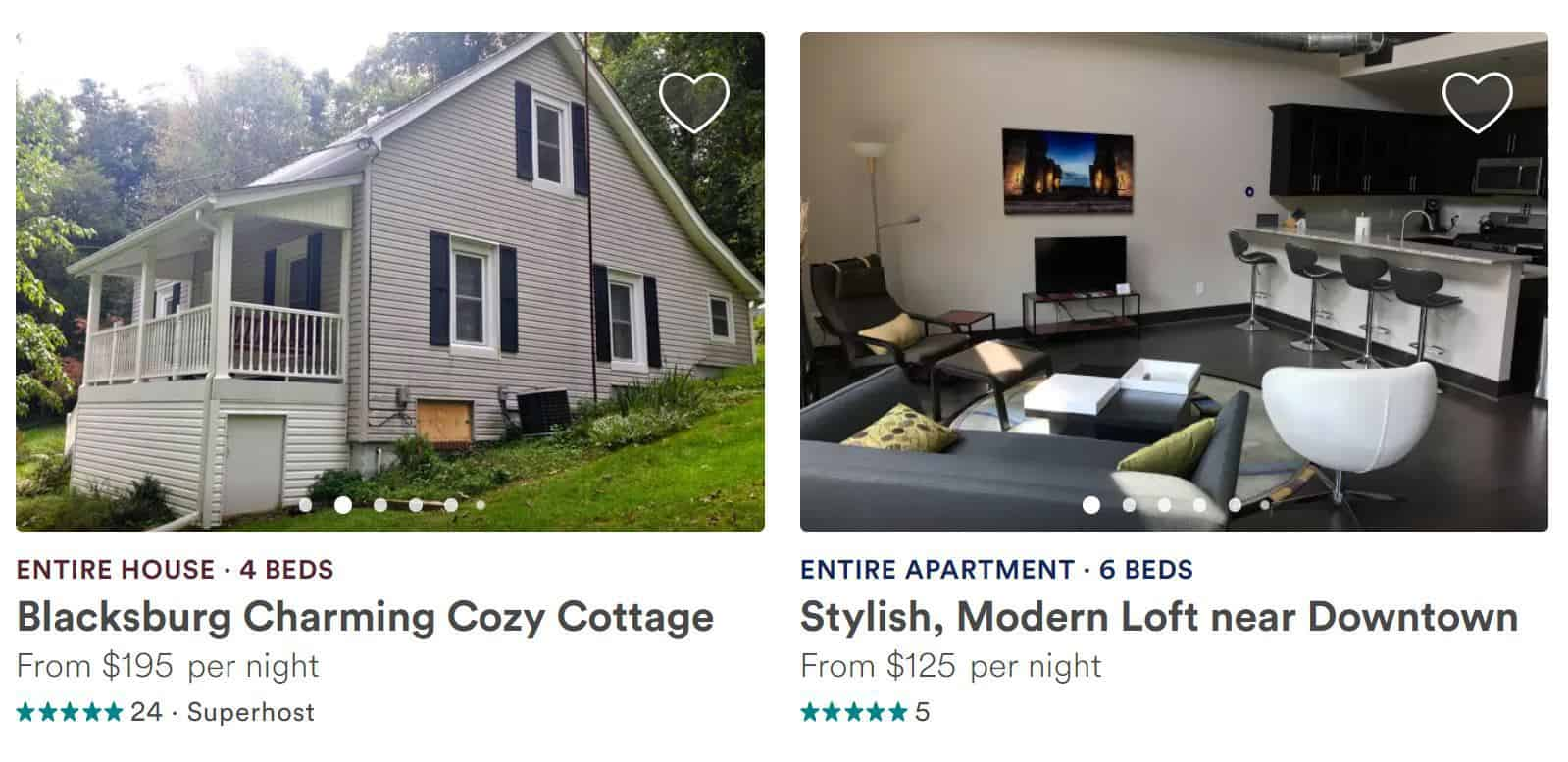 homes to stay at for airbnb