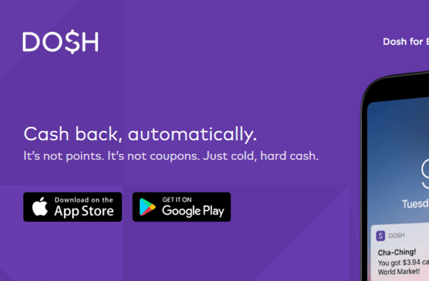 dosh screenshot