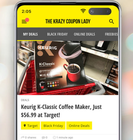 krazy coupon lady app preview