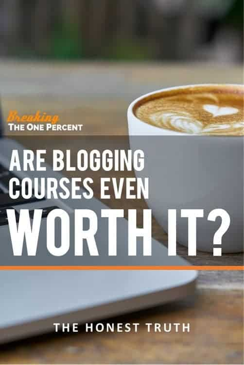 Are blogging courses worth it? The boring answer is it depends. Some provide so much value they're worth measurably more than what you paid for them. Others are complete crap. Learn how to decide which blogging courses are worth your time and money with this AMAZING guide one of the coolest bloggers around.