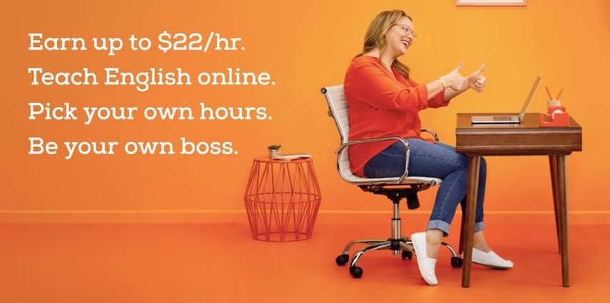 Make money teaching English online with VIPKid.