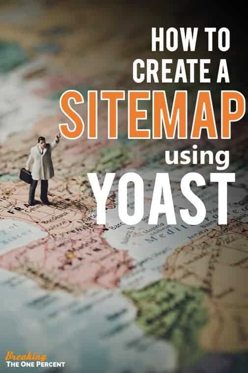 how to create a sitemap in wordpress using the yoast seo plugin