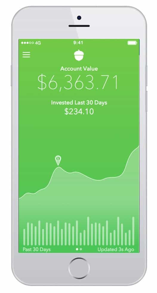 acorns app screenshot
