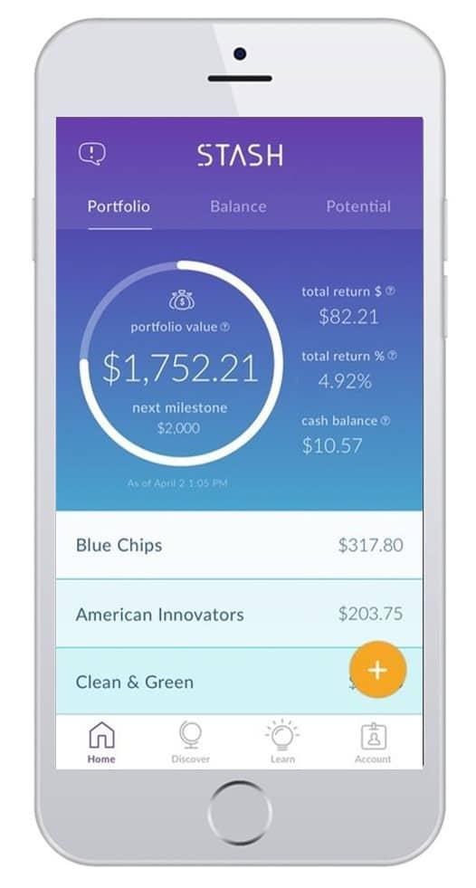 stash app screenshot