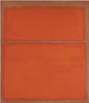 Mark Rothko painting that was bought for $1.8M and sold for $31.4M 13 years later