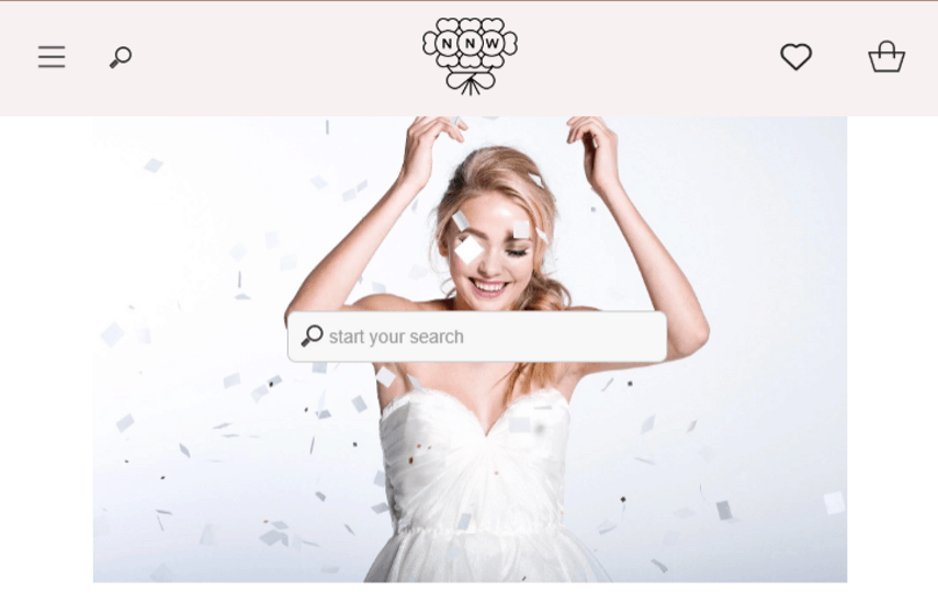 Nearly Newlywed website for selling wedding dresses online