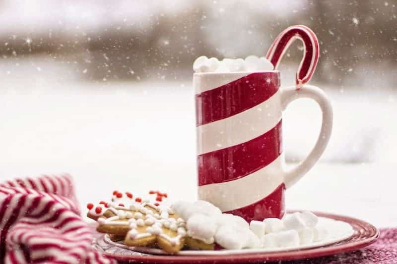 Lower the Costs on Your Christmas Budget: Peppermint drink and Christmas cookies
