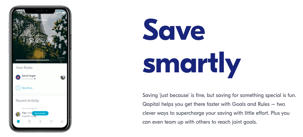 Qapital Review: Save Smartly