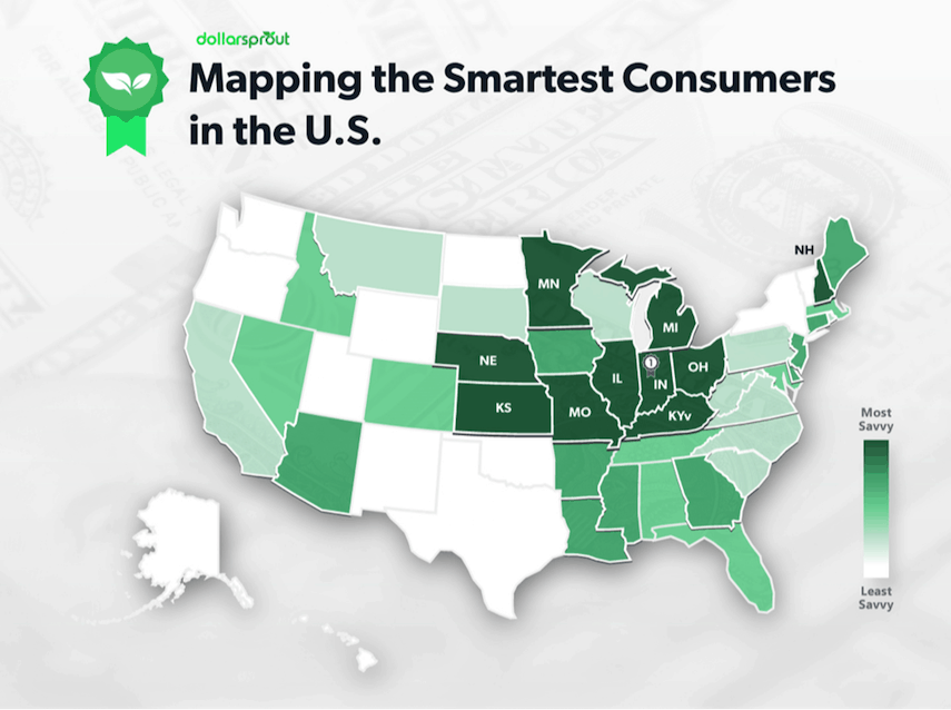Savviest Shoppers Map