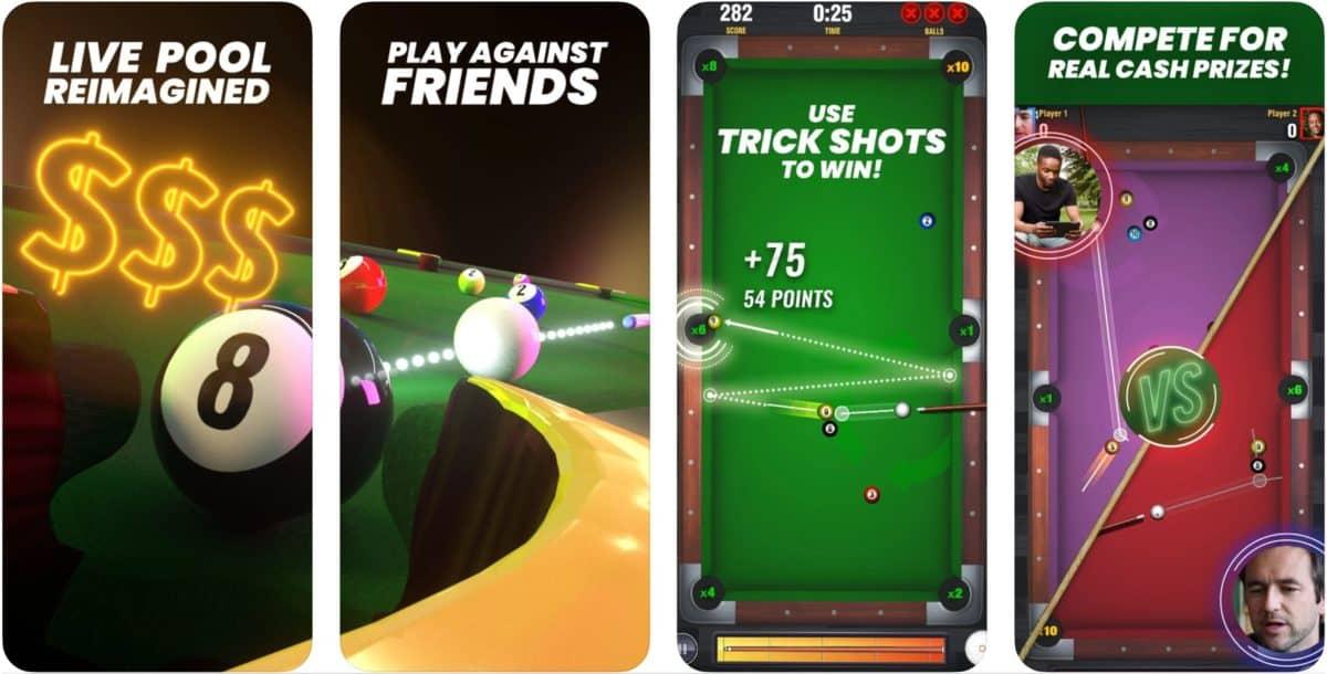 pool payday app screenshots