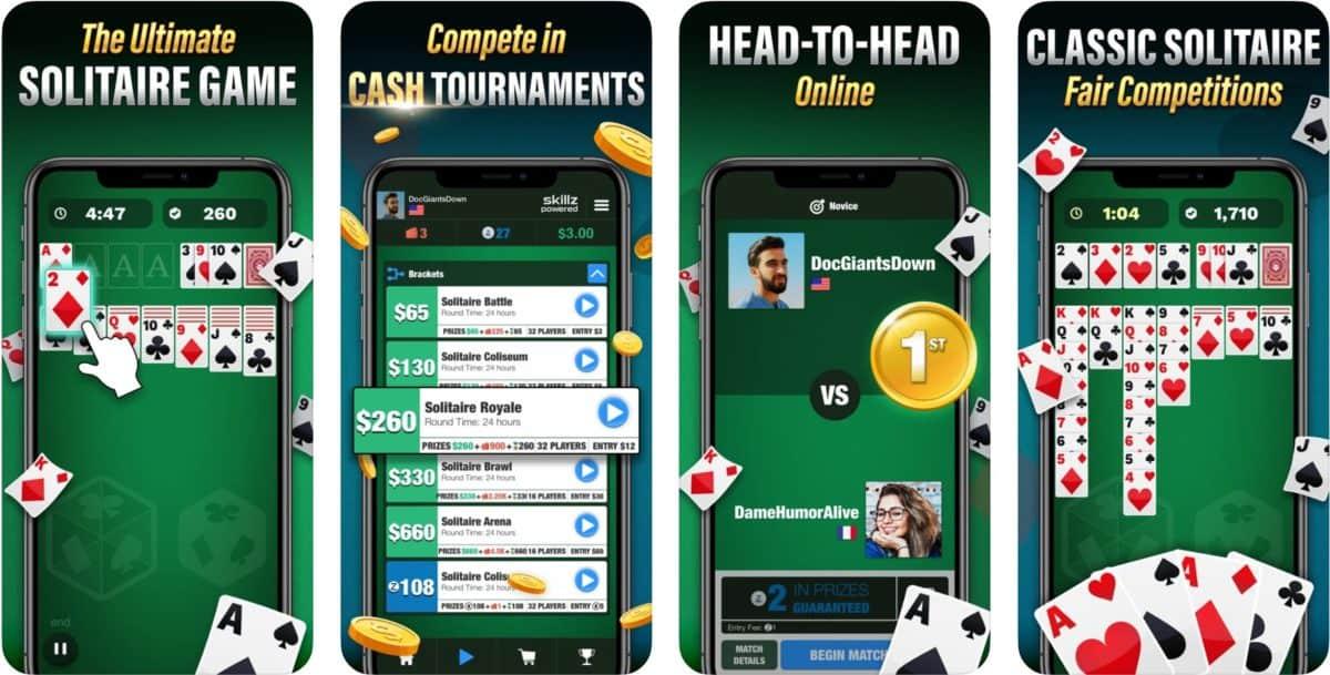 solitaire cube app screenshots