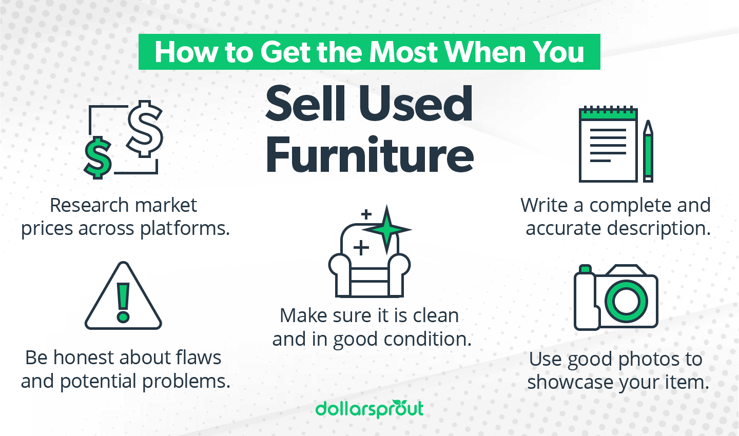 How to get the most for your used furniture