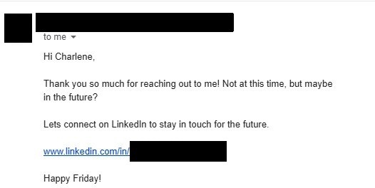 Cold Email Campaign Response