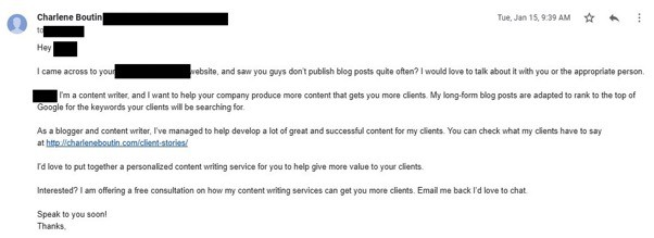 Email for Free Consultation Call