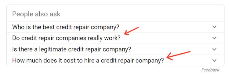 Credit Repair Company Google Search