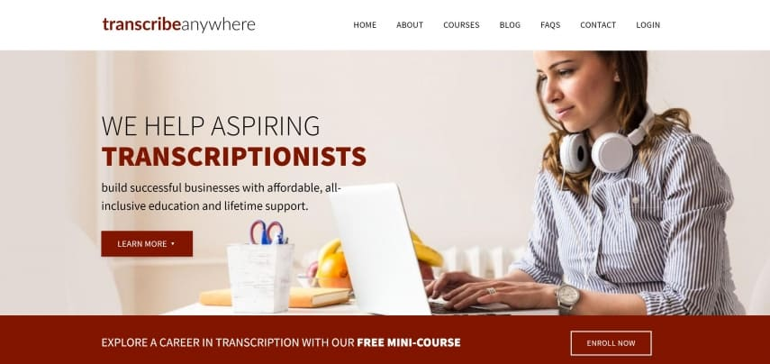 how to make money online as a transcriptionist