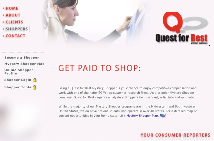 quest for the best homepage