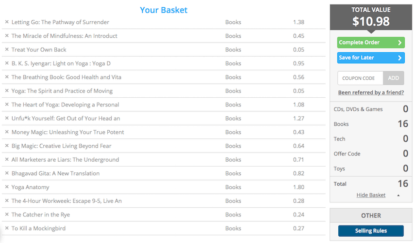 Decluttr Review: Book Valuation