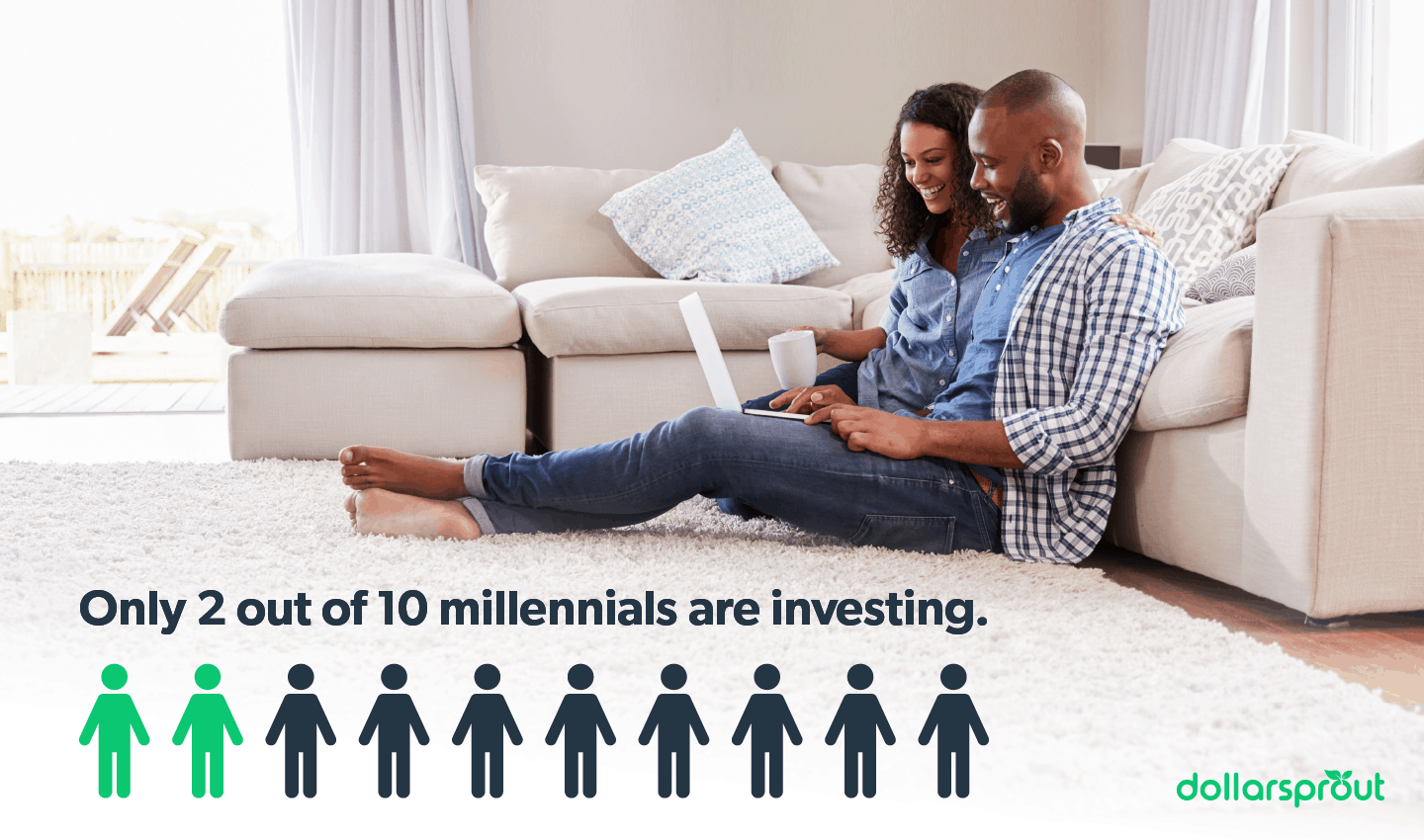 Only 2 out of 10 millennials are investing