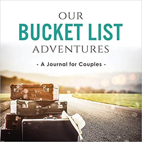 Bucket List Journal for Couples