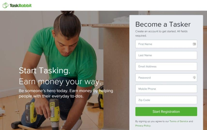 become a taskrabbit tasker