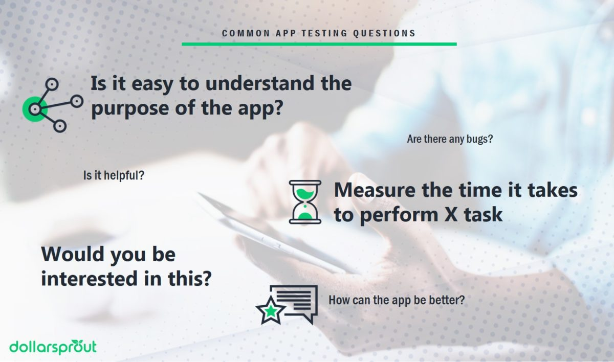 examples of common questions you may be asked as an app tester