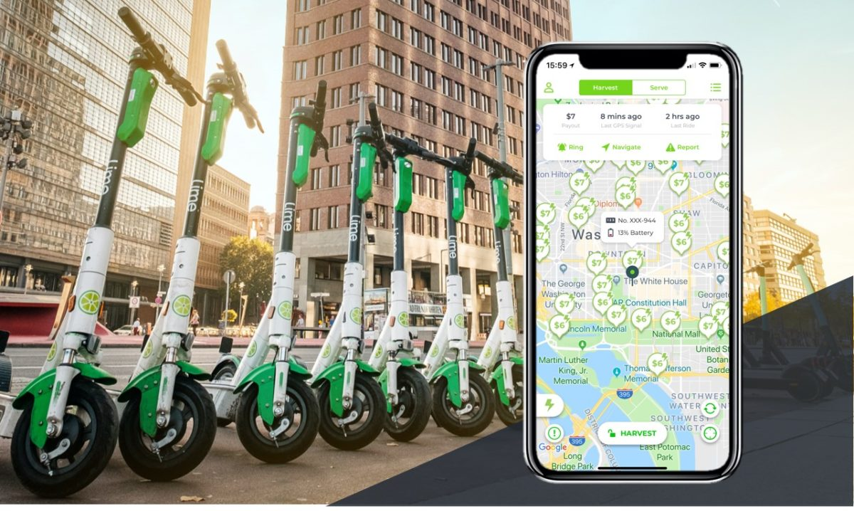 get paid to charge scooters