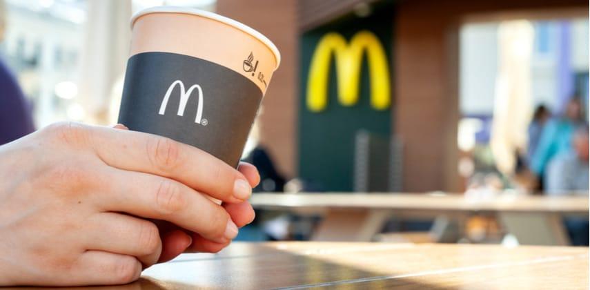 McDonald's coffee cup