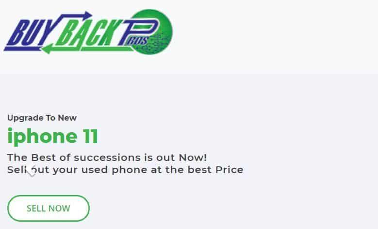 Buy Back Pros homepage