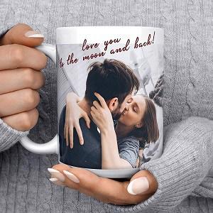 Christmas gift for her: Custom Mug