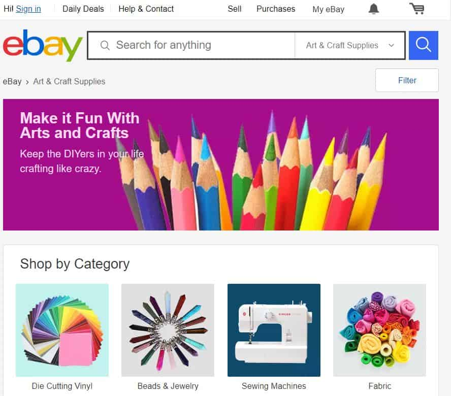 23 Best Places To Sell Crafts Online Dollarsprout