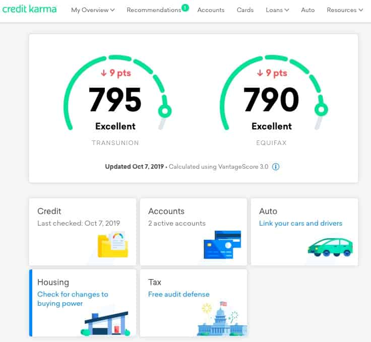 how to get your credit score for free