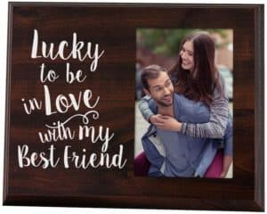 Lucky to Be in Love Picture Frame