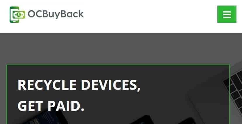 OCBuyBack homepage