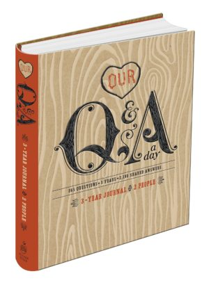 Our Q&A a Day: 3-Year Journal
