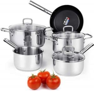 Practical Gift Ideas for Mom - Set of Pots and Pans