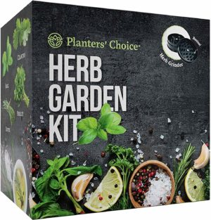 Valentine's Gifts for Him - Planters' Choice Organic Herb Growing Kit
