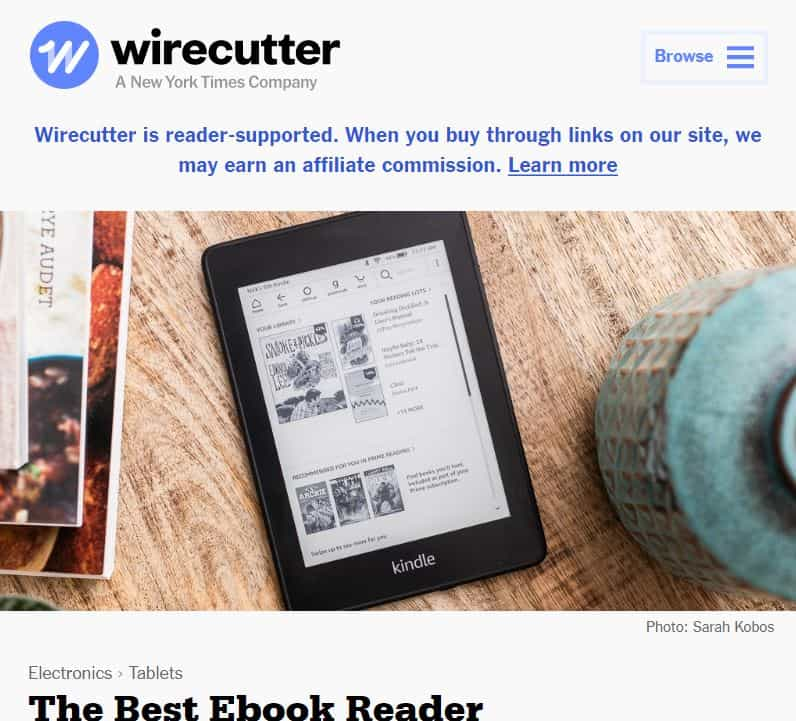 Wirecutter Product Reviews Blog