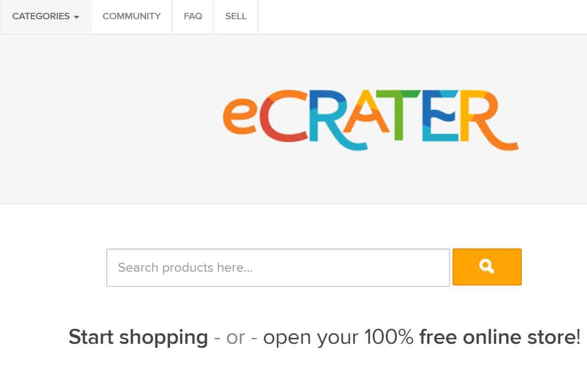 Sell Crafts Online at eCrater