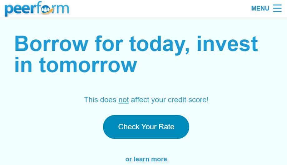 Perform P2P lending