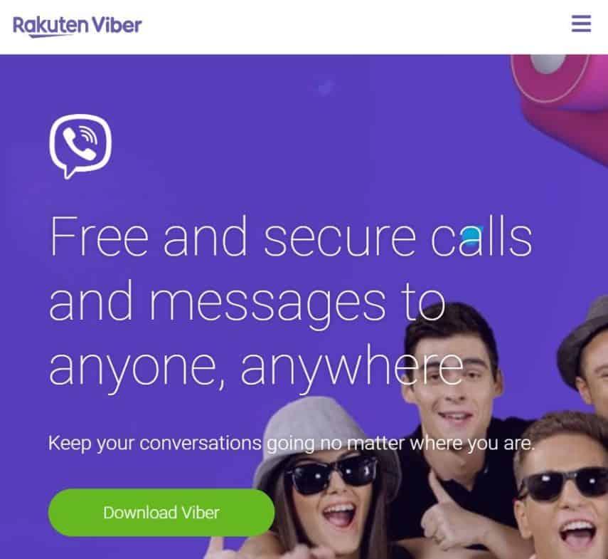 Viber is free international calling app