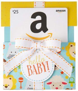 Amazon Baby Shower Gift Card